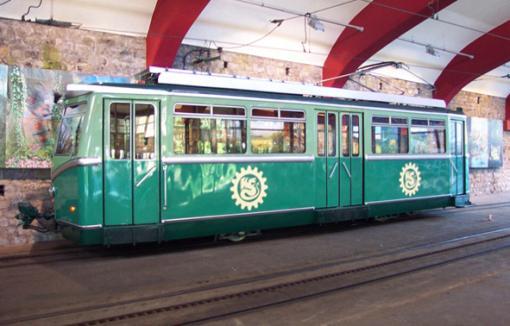Beschriftung Zahnradbahn