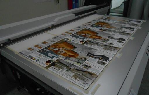 Werbeschilder aus PVC Hartschaumplatte , doppelseitig in hoher Stückzahl